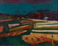 Felder nach der Ernte (Fields after Harvest), 1946   issyparis