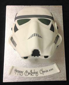 ~London Cake - Star Wars Storm Trooper Cake~