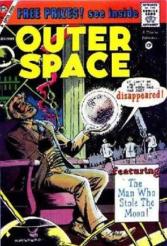 Outer Space #25 1959 GD (2.0) ---> shipping is $0.01 !!!