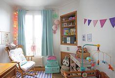 La chambre bébé de Louise D. - cute, baby room, chambre bébé, chambre fille, deco chambre bebe