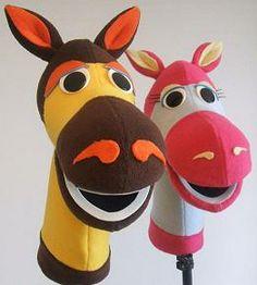 Hellyer's Puppet Workshop: Horse Puppet