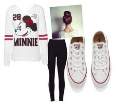 """mini things"" by aliyahlarose on Polyvore featuring Disney, Converse, women's clothing, women's fashion, women, female, woman, misses and juniors"