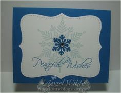 Splitcoaststampers FOOGallery - Top Note Snowflake Card