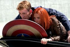 Captain America and Black Widow. PLEASE SOMEONE TELL ME I'M NOT THE ONLY ONE WHO SHIPS THESE TWO