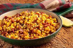 Rustic Skillet Corn with Bacon Recipe - Kraft Recipes