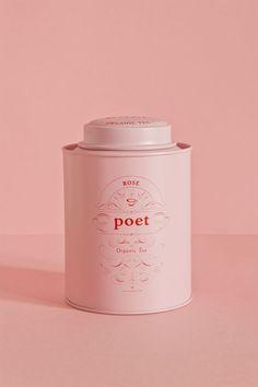 Studio Patten - Poet tea #tins #tea #packaging