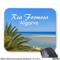Shop Algarve Ria Formosa Beach and Seascape in Portugal Mouse Pad created by stdjura. Ria Formosa, Algarve, Portugal, Awesome, Beach, Photography, Life, Beautiful, The Beach