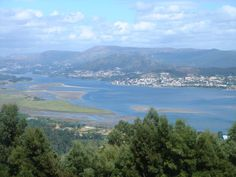 Desembocadura del Rio Miño - Monte de Santa Tecla