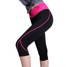 Yoga Pants New women Quick-Dry sexy sports Fitness leggings gym clothing for women Slim Elastic Tights Sports pants outdoors