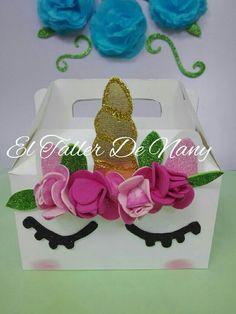 Minicotillon unicornio Empaque para dulces fiesta unicornio