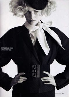 Image from Elle Russia November 2010.