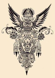 Maori Tattoo Desing