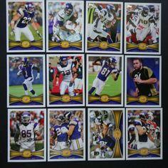 2012 Topps Minnesota Vikings Team Set of 12 Football Cards Football Cards, Baseball Cards, Minnesota Vikings, History, Ebay, Soccer Cards, Historia, History Books