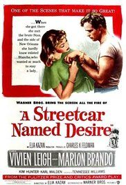 A Streetcar Named Desire -film portraying anxiety disorder and past treatment of women in the mental health system.