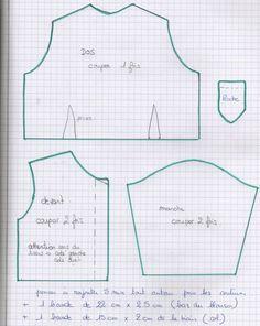 vêtements pour chéries de corolle Plus