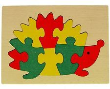 ABA Hedgehog Jigsaw Puzzle with Frame. Best Price