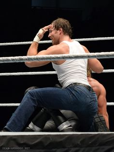 look at that ass. Men's Wrestling, Wrestling Stars, Wwf Superstars, Jonathan Lee, Wwe Dean Ambrose, Bae, The Shield Wwe, Nxt Divas, Weak In The Knees