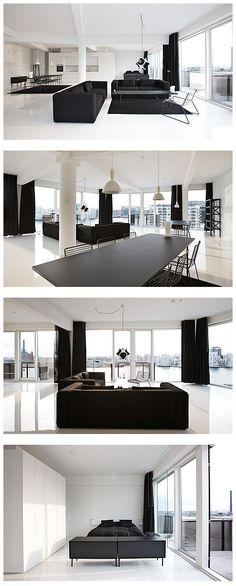 Modern Bedroom Design, Modern House Design, Home Interior Design, Interior Architecture, Interior Decorating, Loft House, Apartment Interior, Contemporary Interior, Showroom