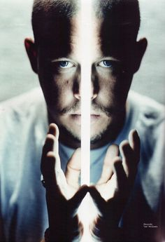 Alexander McQueen~such a sad loss- way too many of the most creative  poeple kill themselves.