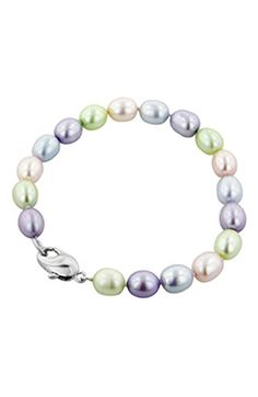 HONORA 'Candy Collection' Freshwater Pearl Bracelet (Girls)