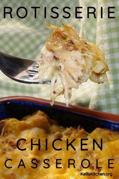 20 One Dish Dinners to Make With Leftover Rotisserie Chicken - unOriginal Mom Chicken Tikka Masala, Casserole Dishes, Casserole Recipes, Easy Dinner Recipes, Easy Meals, Dinner Ideas, Easy Recipes, Healthy Recipes, Tofu