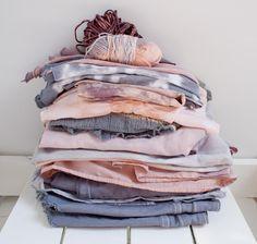 Tie dyed fabrics