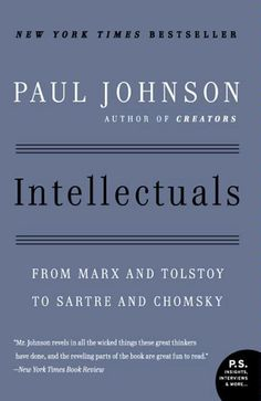 A fascinating portrait of the minds that have shaped the modern world. In an intriguing series of case studies, Rousseau, Shelley, Marx, Ibsen, Tolstoy, Hemingway, Bertrand Russell, Brecht, Sartre, Edmund Wilson, Victor Gollancz, Lillian Hellman, Cyril Connolly, Norman Mailer, James Baldwin, Kenneth Tynan, and Noam Chomsky, among others, are revealed as intellectuals both brilliant and contradictory, magnetic and dangerous.