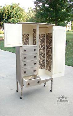 B.E. Interiors: Finished Armoire & Furniture Refurbishing: Part II