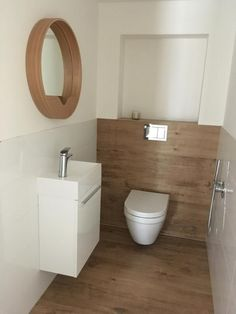 Koupelna The Most Useful Bathroom Shower Ideas There are almost uncountable kinds of rest room bathe Small Toilet Design, Small Toilet Room, Guest Toilet, Bathroom Design Small, Bathroom Layout, Simple Bathroom, Modern Bathroom, Lavabo Design, Wc Design