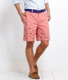 School of Fish Embroidered Club Shorts