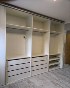 Diy Bathroom Storage, Wardrobe Design Bedroom, Dressing Room Closet, Living Room Decor Apartment, Bedroom Closet Design, Bedroom Decor, Wardrobe Doors, Closet Remodel, Closet Layout
