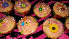 Summer time cupcakes by SparkLmore on Etsy