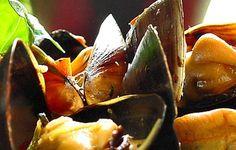 Thai-maustetut sinisimpukat