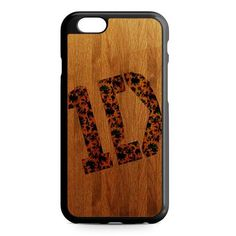 Wood One Direction Logo iPhone 7