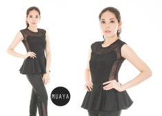 HAYLEY BLACK - muaya clothing - #fashion #womensfashion #womenswear
