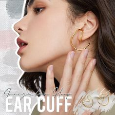 Irregular Hoop Ear Cuff – usimaginever