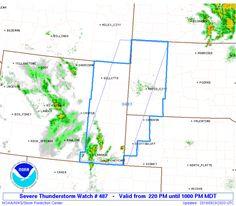 SPC Severe Thunderstorm Watch 487 Status Reports - http://blog.clairepeetz.com/spc-severe-thunderstorm-watch-487-status-reports/