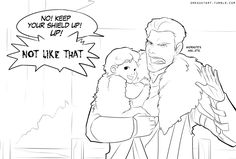 I think it's pretty universally accepted that the Commander would make for a rather awesome dad.