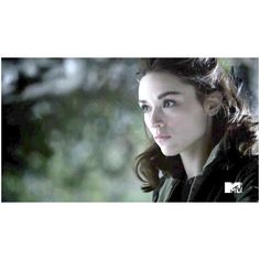 CrYsTaL rEeD ❤ liked on Polyvore featuring teen wolf, people - crystal reed, crystal reed and hair