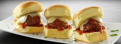 Create easy, tasty holiday appetizers using Cooked Perfect meatballs for great homemade taste.