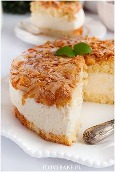 Cake bee sting - I Love Bake Polish Desserts, Polish Recipes, Cheesecake Recipes, Cookie Recipes, Dessert Recipes, Healthy Fruit Desserts, Delicious Desserts, My Favorite Food, Amazing Cakes