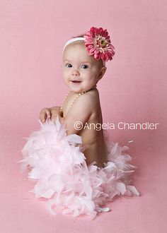 photo shoot idea for 6 month old girl | month old baby planner | SF East Bay Area/Fremont/Union City Infant ...