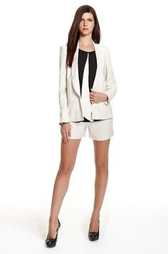 #engagementparty Hugo Boss Pleated Crepe Shorts Suit. $379. Summer Suit. @Hugo Ahlberg BOSS
