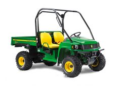 John Deere HPX 4x4 - can be used to drag rings by hooking it up to a drag... much easier than using a huge tractor! More eco friendly also