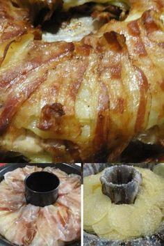 Ciambella di pollo e patate, un secondo piatto da leccarsi i baffi !