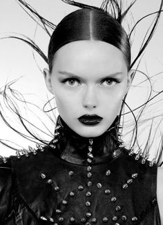 Yes studs and rivets have come back in #Goth glam fashion