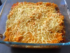 VEGAN - ohne Soja - Linsen Auflauf mit Süßkartoffeln