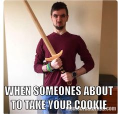 I also made this for Jacksepticeye because of his love for cookies