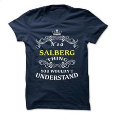 SALBERG - #gift for teens #day gift. I WANT THIS => https://www.sunfrog.com/Camping/SALBERG-111100521-Guys.html?id=60505