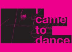 Check out the design I Wanna Dance by Robert Gould on Threadless